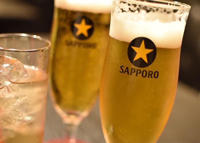 サッポロ黒ラベルのビール